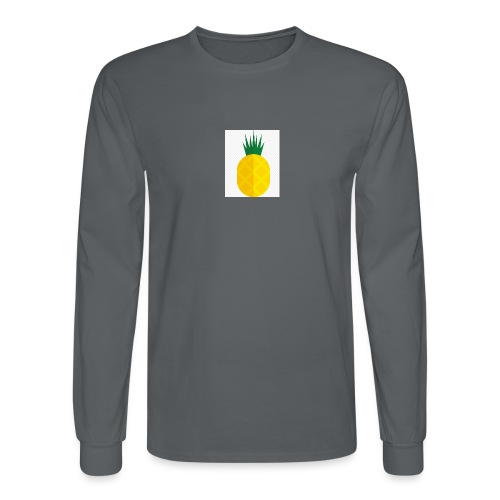 Pixel looking Pineapple - Men's Long Sleeve T-Shirt