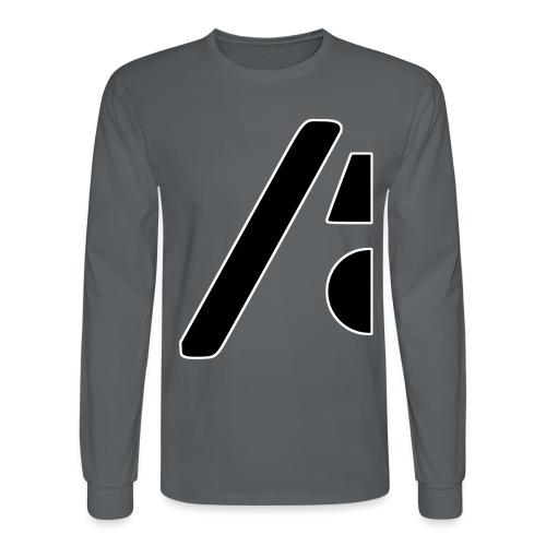 Half the logo, full on style - Men's Long Sleeve T-Shirt