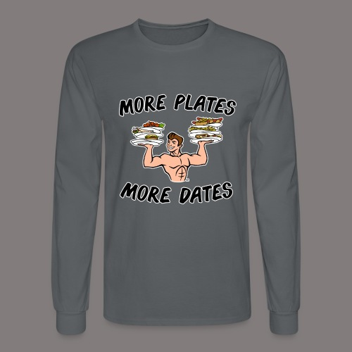 MorePlates_FINAL Spreadsh - Men's Long Sleeve T-Shirt