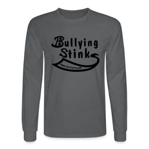 Bullying Stinks! - Men's Long Sleeve T-Shirt