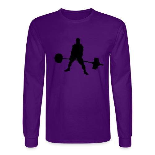 Powerlifting - Men's Long Sleeve T-Shirt