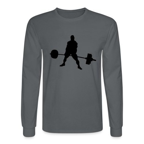 Powerlifting - Men's Long Sleeve T-Shirt
