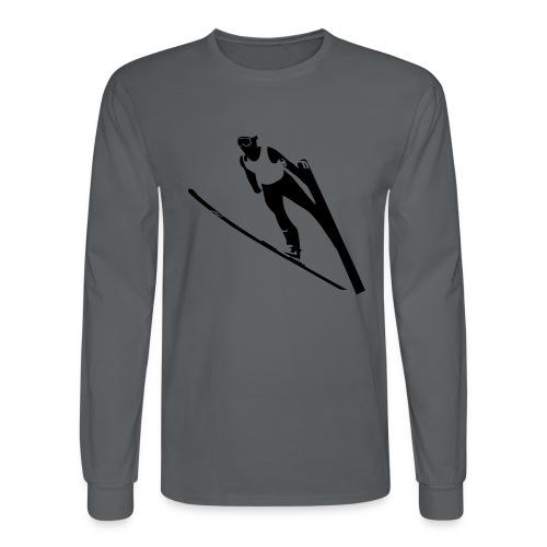 Ski Jumper - Men's Long Sleeve T-Shirt