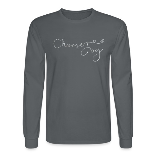 Choose Joy - Men's Long Sleeve T-Shirt