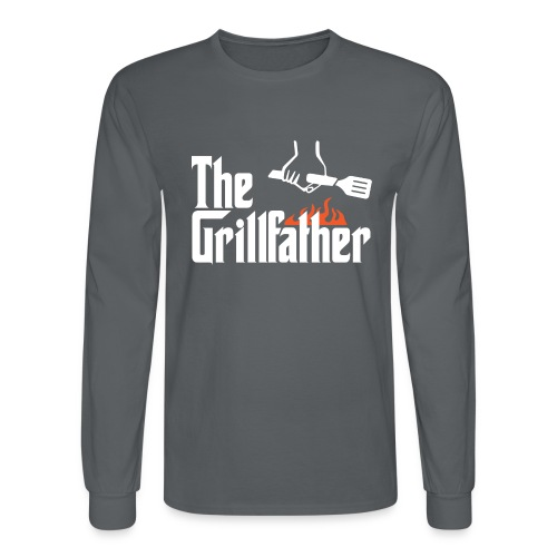 The Grillfather - Men's Long Sleeve T-Shirt