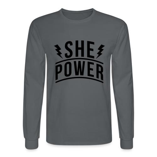 She Power - Men's Long Sleeve T-Shirt