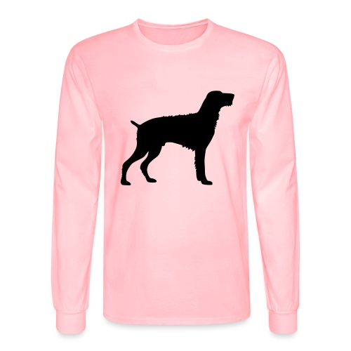 German Wirehaired Pointer - Men's Long Sleeve T-Shirt