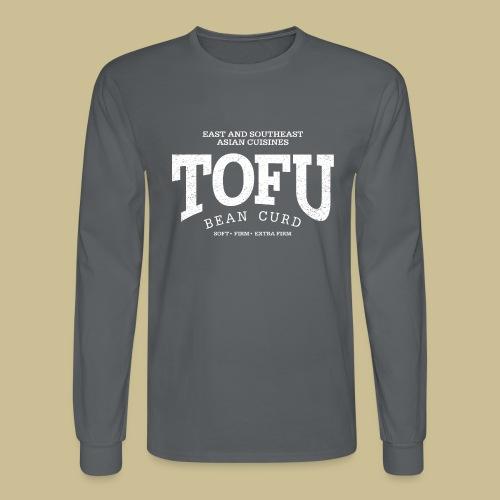 Tofu (white oldstyle) - Men's Long Sleeve T-Shirt
