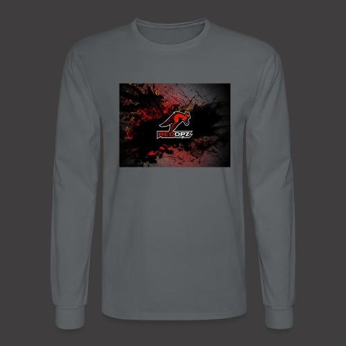 RedOpz Splatter - Men's Long Sleeve T-Shirt
