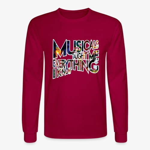 MTMEIK Broadway - Men's Long Sleeve T-Shirt