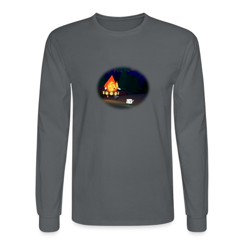 'Round the Campfire - Men's Long Sleeve T-Shirt