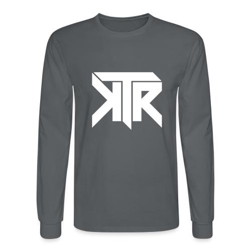 KTR Logo White - Men's Long Sleeve T-Shirt