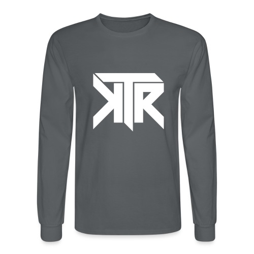 KTR Logo White - Men's Long Sleeve T-Shirt