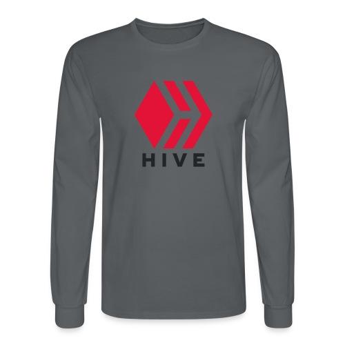 Hive Text - Men's Long Sleeve T-Shirt