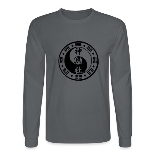 SWC LOGO BLACK - Men's Long Sleeve T-Shirt