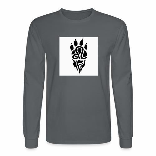 Black Leo Zodiac Sign - Men's Long Sleeve T-Shirt
