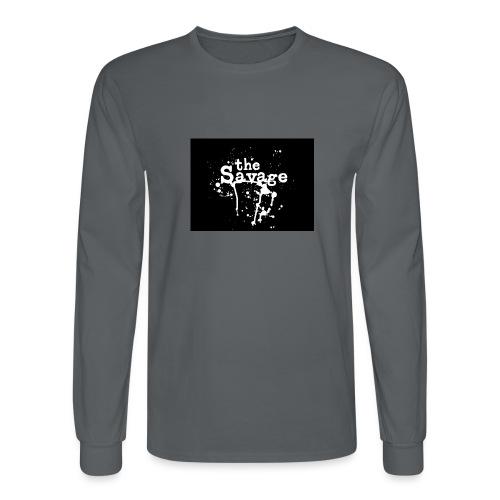 the savage - Men's Long Sleeve T-Shirt
