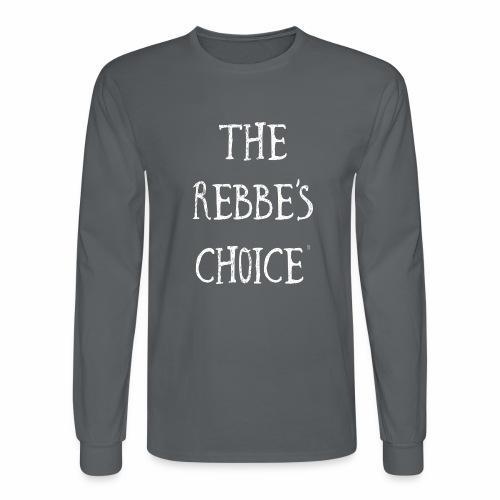 Rebbes Choice Apparel WHT - Men's Long Sleeve T-Shirt