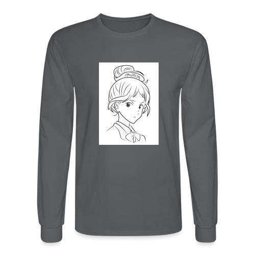 Girl - Men's Long Sleeve T-Shirt