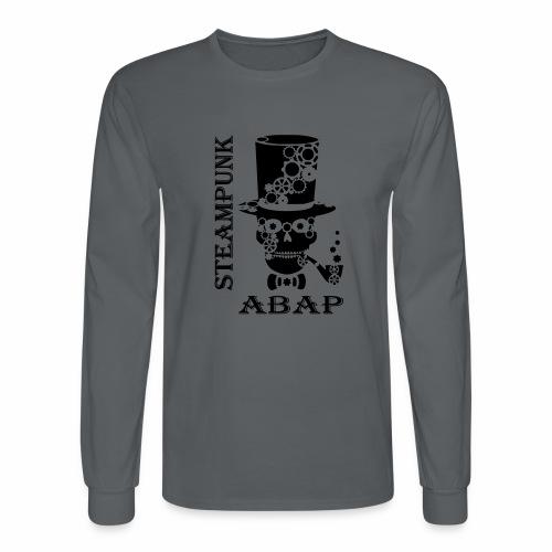 Steampunk Skull - Men's Long Sleeve T-Shirt