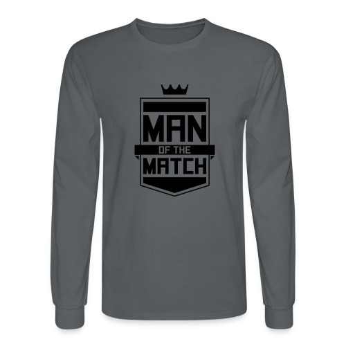 Man of the Match - Men's Long Sleeve T-Shirt