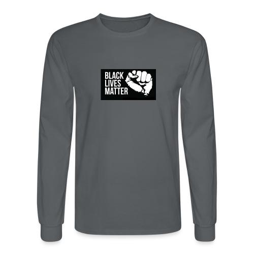 BLM T-SHIRT II - Men's Long Sleeve T-Shirt