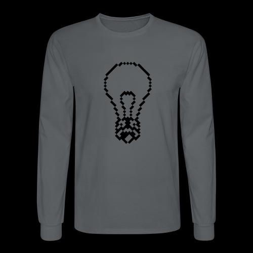 lightbulb by bmx3r - Men's Long Sleeve T-Shirt