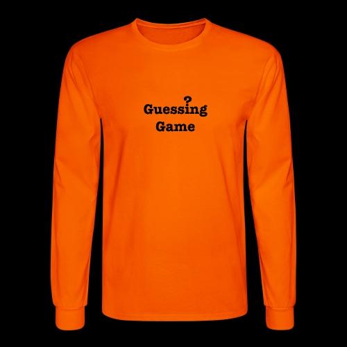 Question - Men's Long Sleeve T-Shirt