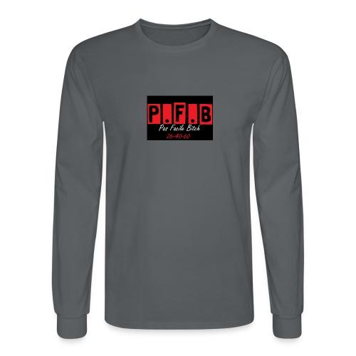 Pas Facile Bitch - Men's Long Sleeve T-Shirt
