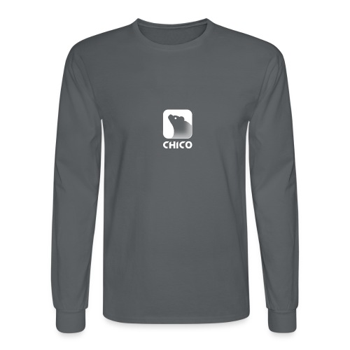 Chico's Logo with Name - Men's Long Sleeve T-Shirt