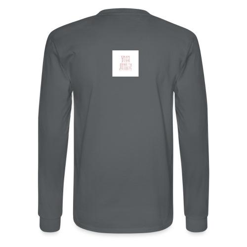Yoga Junkie - Men's Long Sleeve T-Shirt