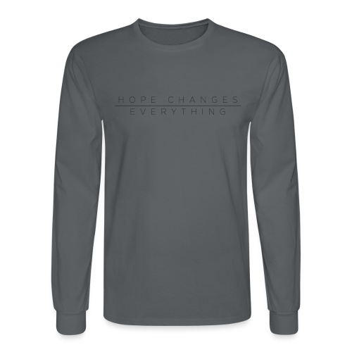 Hope Changes Everything - Men's Long Sleeve T-Shirt