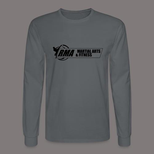 RMA-full-logo-Front-1clr- - Men's Long Sleeve T-Shirt