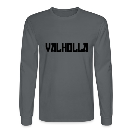 valholla futureprint - Men's Long Sleeve T-Shirt