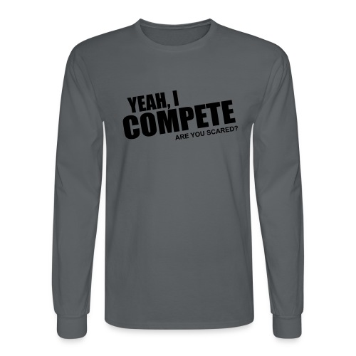 compete - Men's Long Sleeve T-Shirt