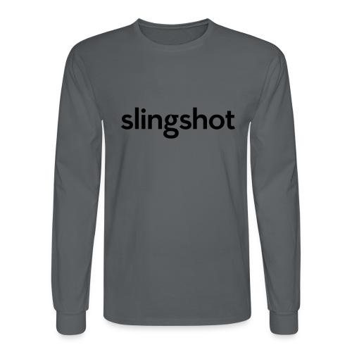 SlingShot Logo - Men's Long Sleeve T-Shirt