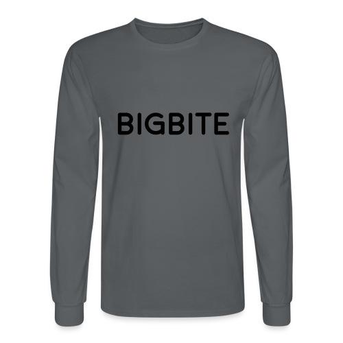 BIGBITE logo red (USE) - Men's Long Sleeve T-Shirt