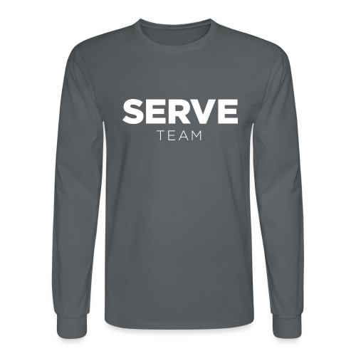 Serve Team T-Shirt - Men's Long Sleeve T-Shirt