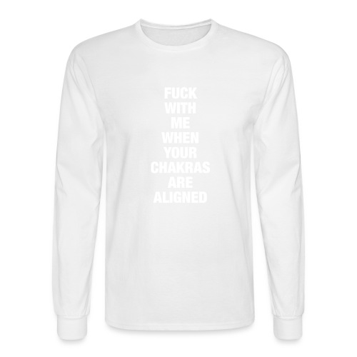 Chakras Aligned - Men's Long Sleeve T-Shirt