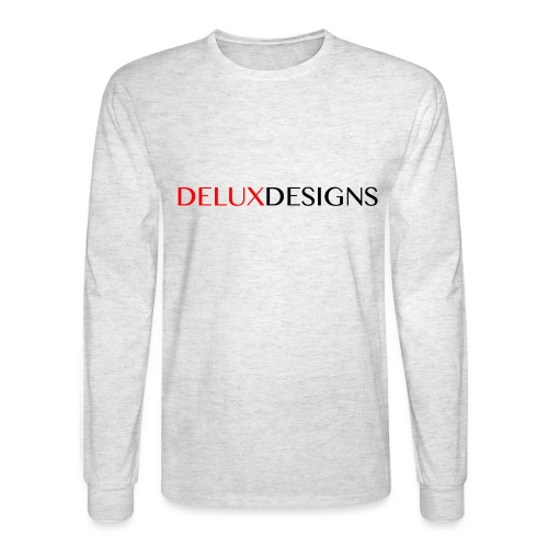 Delux Designs (black) - Men's Long Sleeve T-Shirt