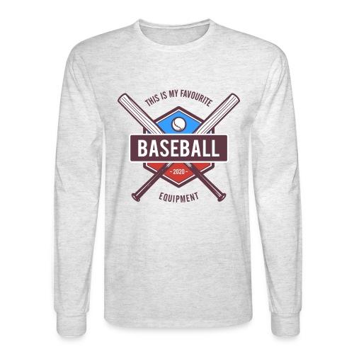 baseball - Men's Long Sleeve T-Shirt