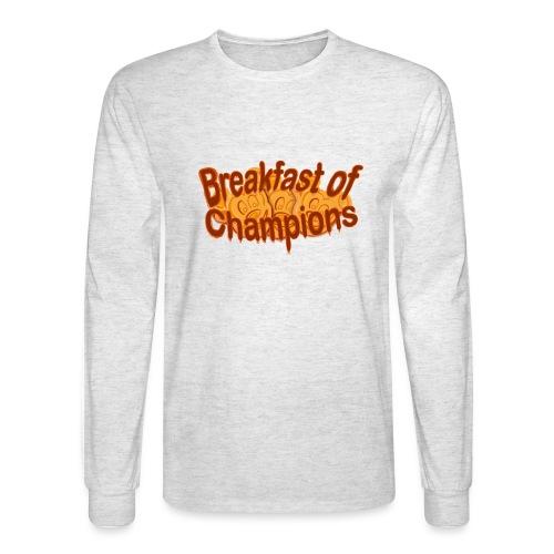 Breakfast of Champions - Men's Long Sleeve T-Shirt