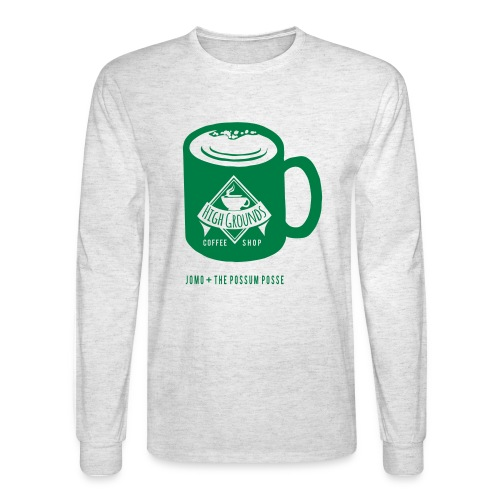 High Grounds Coffee Shop - Men's Long Sleeve T-Shirt