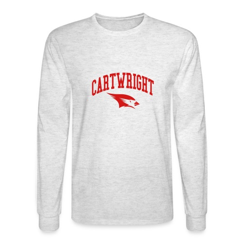 Cartwright College Logo - Men's Long Sleeve T-Shirt