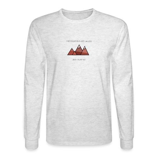 The Mountains - Men's Long Sleeve T-Shirt