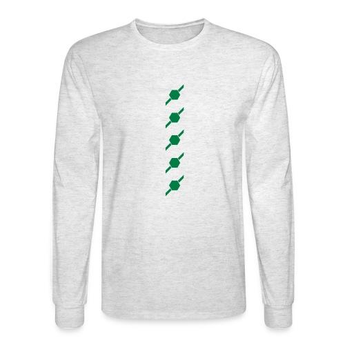 fivehex vector - Men's Long Sleeve T-Shirt
