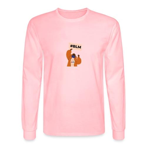 #BLM FIRST Man Petitioner - Men's Long Sleeve T-Shirt