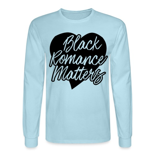Black Romance Matters Tee - Men's Long Sleeve T-Shirt