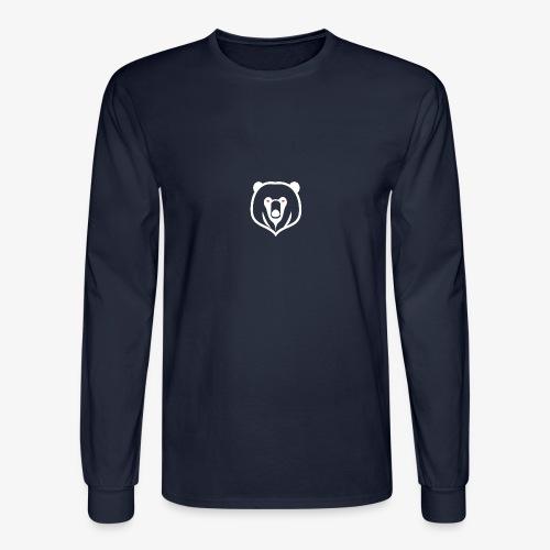 white kz logo - Men's Long Sleeve T-Shirt