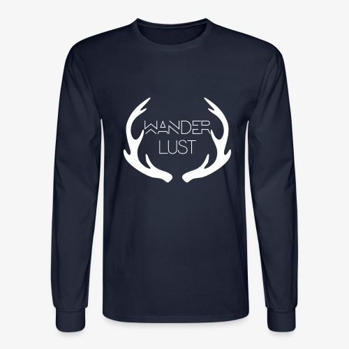 wanderlust long sleeve - Men's Long Sleeve T-Shirt